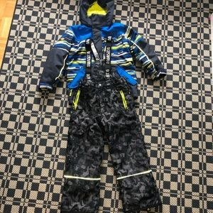 MONSTER winter set: jacket and snow pants
